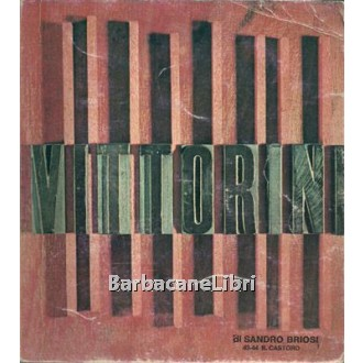 Briosi Sandro, Vittorini, La Nuova Italia, 1975