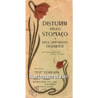 Disturbi dello stomaco e dell'apparato digerente, TOT Company, s.d. (primi '900)
