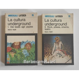 Maffi Mario, La cultura underground (2 voll.), Laterza, 1980
