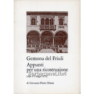 Nimis Giovanni Pietro, Gemona del Friuli, Doretti, 1976
