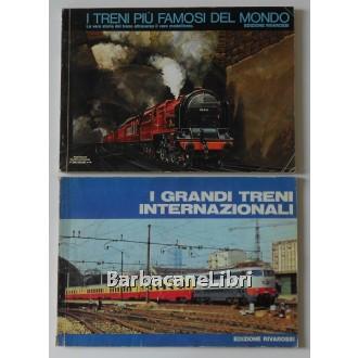 I grandi treni internazionali (catalogo 1975-76). I treni più famosi del mondo (catalogo 1977-78), Rivarossi