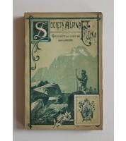 Società Alpina Friulana. Cronaca del 1887-88. Anno VII e VIII