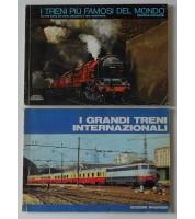 I grandi treni internazionali (catalogo 1975-76). I treni più famosi del mondo (catalogo 1977-78)