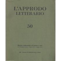 AA. VV., L'approdo letterario n. 50, Eri Edizioni Rai Radiotelevisione Italiana, 1970