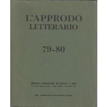 AA. VV., L'approdo letterario n. 79-80, Eri Edizioni Rai Radiotelevisione Italiana, 1977