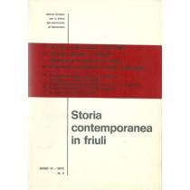 AA. VV., Storia contemporanea in Friuli n. 4, Istituto Friulano per la Storia del Movimento di Liberazione