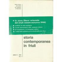 AA. VV., Storia contemporanea in Friuli n. 5, Istituto Friulano per la Storia del Movimento di Liberazione