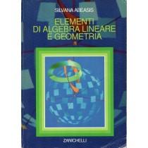 Abeasis Silvana, Elementi di algebra lineare e geometria, Zanichelli, 1999