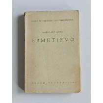 Apollonio Mario, Ermetismo, CEDAM, 1945