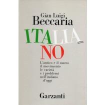 Beccaria Gian Luigi, Italiano. Antico e nuovo, Garzanti, 1988