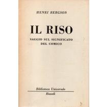 Bergson Henri, Il riso, Rizzoli, 1961