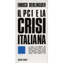 Berlinguer Enrico, Il PCI e la crisi italiana, Editori Riuniti, 1976