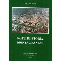 Borin Antonio, Note di storia montagnanese, Tipolitografia Arte Stampa, 1990
