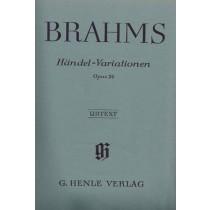 Brahms Johannes, Händel-Variationen op. 24, Henle