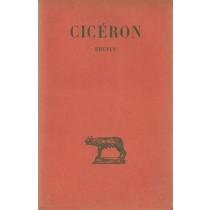 Cicerone, Brutus, Société d'édition Les Belles Lettres, 1960