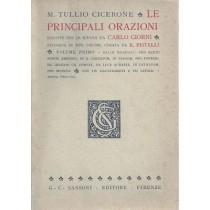 Cicerone, Le principali orazioni. Ridotte per le scuole da Carlo Giorni, Sansoni, 1937