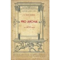 Cicerone Marco Tullio, Pro Archia, Società Editrice Internazionale, 1956