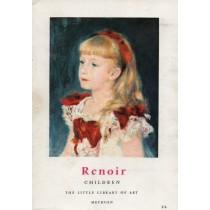 Cogniat Raymond, Renoir. Children, Methuen, 1958