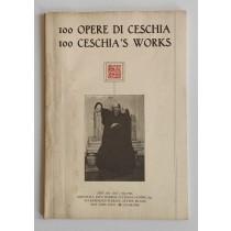 Crispolti Enrico (a cura di), 100 Opere di Luciano Ceschia / 100 Ceschia's works, Grafiche Toffoletti, 1984