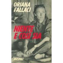 Fallaci Oriana, Niente e così sia, Rizzoli