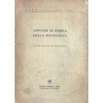 Ferrarotti Franco, Appunti di Storia della sociologia, Edizioni Ricerche