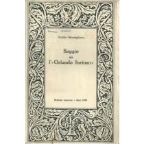 Momigliano Attilio, Saggio su l'Orlando furioso, Laterza, 1959
