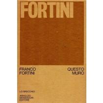 Fortini Franco, Questo muro, Mondadori, 1973