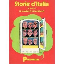Gabbi Giorgio (a cura di), Storie d'Italia (a fumetti) di scandalo in scandalo, Panorama