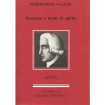 Galiani Ferdinando, Sentenze e motti di spirito, Salerno, 1991