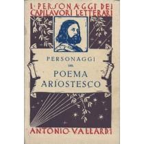 Gustarelli Andrea, Personaggi del poema ariostesco, Vallardi