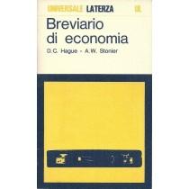 Hague Douglas C., Stonier Alfred W., Breviario di economia, Laterza, 1973