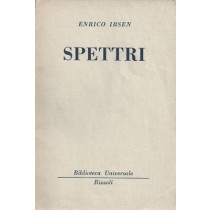 Ibsen Herik, Spettri, Rizzoli, 1954