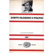 Labriola Antonio, Scritti filosofici e politici (volume secondo), Einaudi, 1973