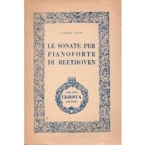 Leoni Sergio, Le sonate per pianoforte di Beethoven, Bocca, 1948