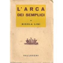 Lisi Nicola, L'arca dei semplici, Vallecchi, 1938