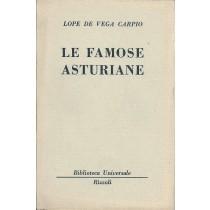 Lope de Vega y Carpio Felix, Le famose asturiane, Rizzoli