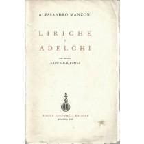 Manzoni Alessandro, Liriche e Adelchi. Con note di Ezio Chiorboli, Zanichelli, 1955