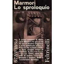 Marmori Giancarlo, Lo sproloquio, Feltrinelli, 1963