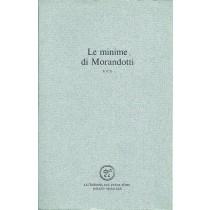Morandotti Alessandro, Minime, vol. III, All'insegna del Pesce d'Oro, 1980