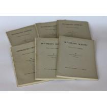 AA. VV., Movimento operaio. Rivista di storia e bibliografia (annata completa 1952), Feltrinelli, 1952