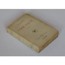 Ojetti Ugo, Cose viste (terzo tomo), Treves, 1926