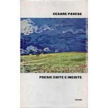 Pavese Cesare, Poesie edite e inedite, Einaudi, 1962