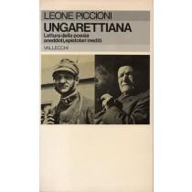 Piccioni Leone, Ungarettiana, Vallecchi, 1980