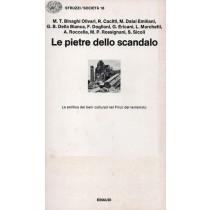 Le pietre dello scandalo. La politica dei beni culturali nel Friuli del terremoto, Einaudi, 1980