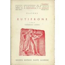 Platone, Eutifrone. A cura di Vittorino Gazza, Società Editrice Dante Alighieri, 1966