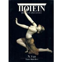AA. VV., Poiein. Quaderni di cultura artistica. N. 3/92, Franco Maria Ricci, 1992