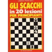 Ponce-Sala Lorenzo, Gli scacchi in 20 lezioni per principianti, De Vecchi, 1988