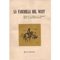 Puccini Giacomo, La fanciulla del West, Ricordi, 1960