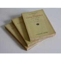 Rousseau Jean-Jacques, Les confessions, Garnier, 1952