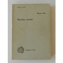 Saba Renato, Macchine utensili, Boringhieri, 1967